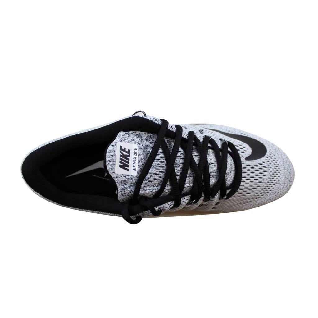 new concept 79b57 22669 Nike - Nike Mens Air Max 2016 WhiteBlack 806771-101 - Walmar