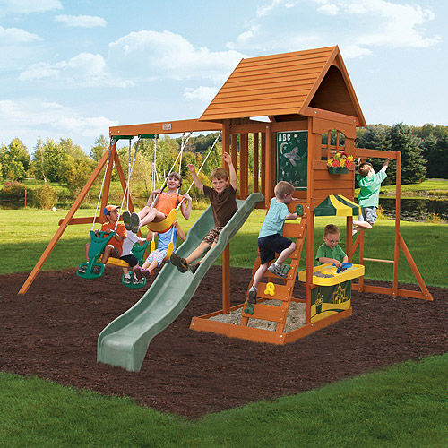 Big Backyard Sandy Cove Swing Set