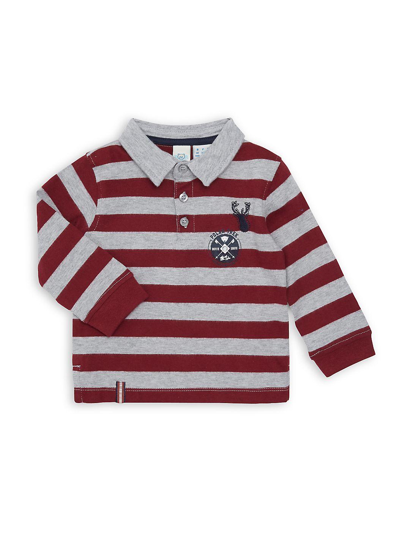 Little Boy's Striped Cotton Polo