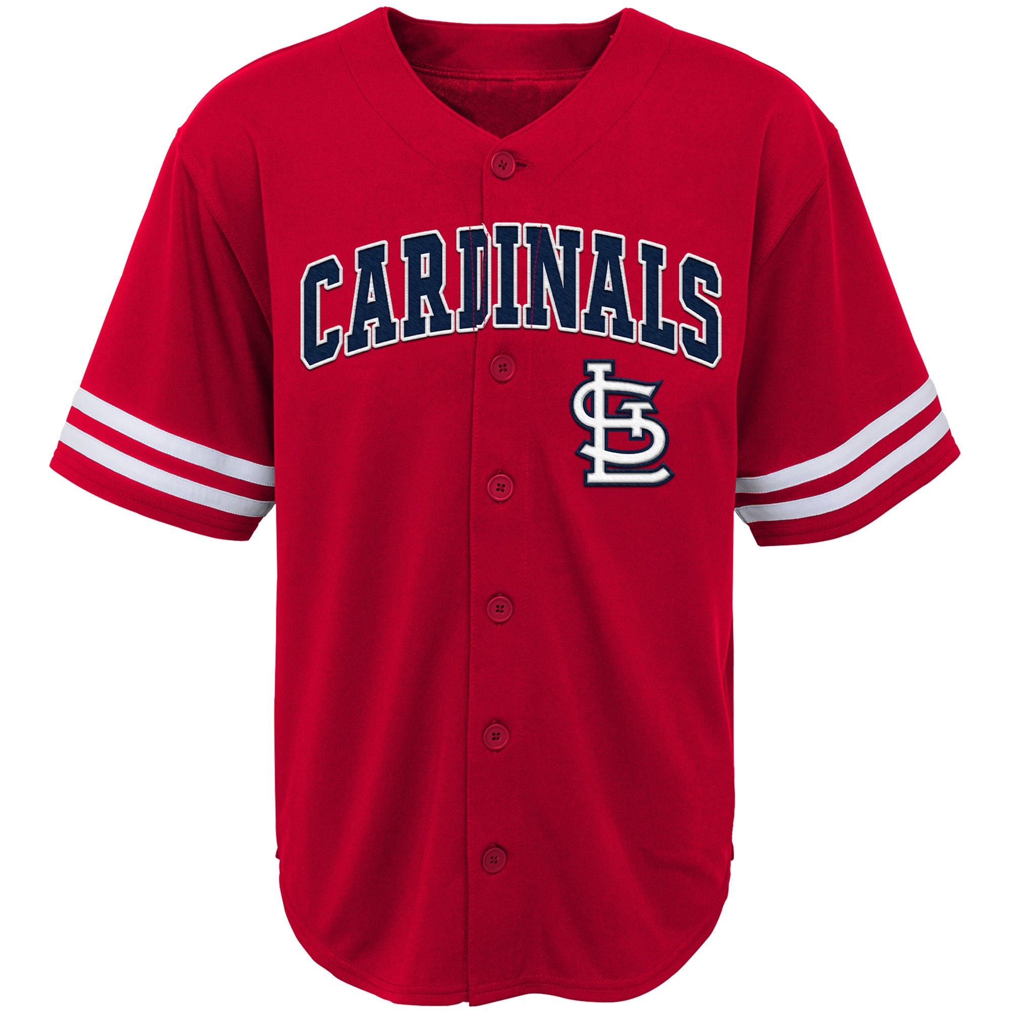 buy online 6a4c1 affde Youth Red St. Louis Cardinals Team Jersey
