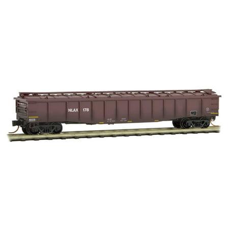 Micro-Trains MTL N-Scale NASA Series Car #7 - 50ft Steel-Side Gondola NLAX #178
