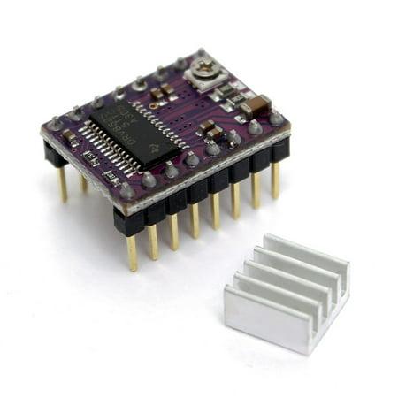 arduino drv8825 stepper motor driver module 3d printer ramps1 4 reprap  stepstick