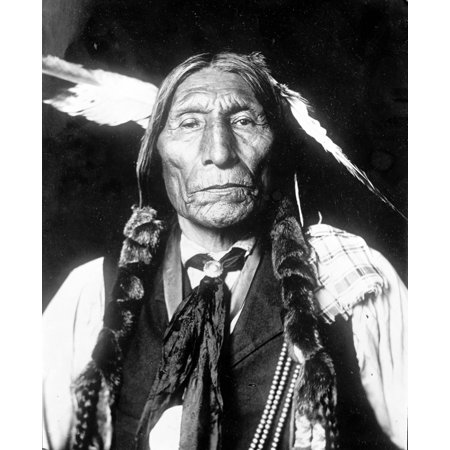 Wolf Robe Cheyenne Indian Chief Poster Print by Science Source