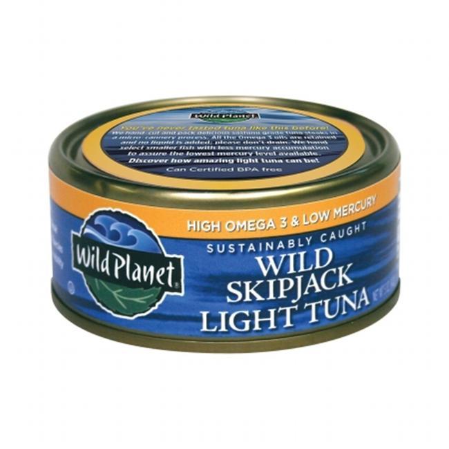 Wild Planet 27284 Skipjack Light Tuna Low Mercury
