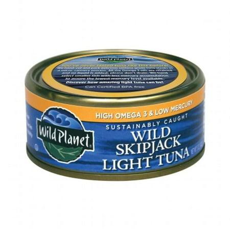 Wild planet 27284 skipjack light tuna low mercury for Fish with low mercury