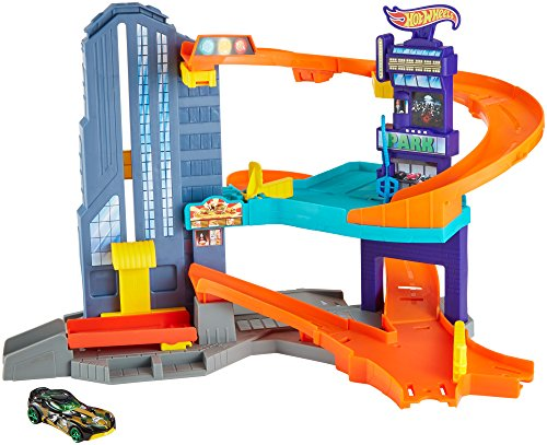 Hot Wheels Speedtropolis Playset by