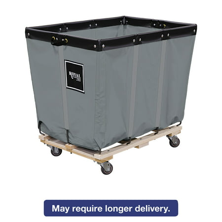Royal Basket Trucks 16 Bushel Permanent Liner Truck, 28 x 40 x 36 1/2, 600 lbs. Capacity, (Royal Basket)