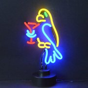 Neonetics Business Signs Parrot Margarita Neon Sign