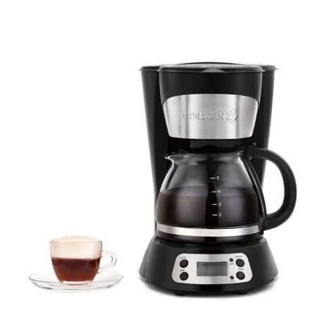 Holstein Housewares 5 Cup Programmable Coffee