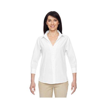 Women's' Paradise Three-Quarter Sleeve Perfromance Shirt, Style M610W Parrot Green T-shirt