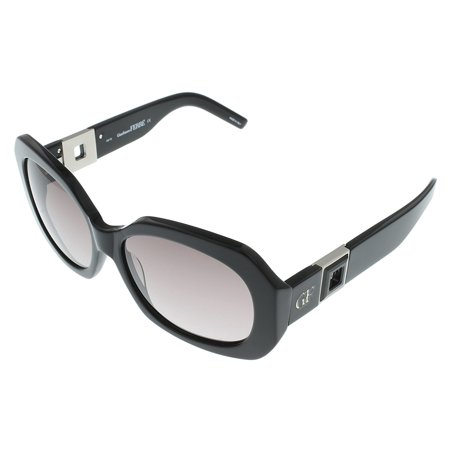 Gianfranco Ferre Sunglasses Womens GF886 01 Black Palladiuim Black Swarovski Rectangular Size: Lens/ Bridge/ Temple: (Gianfranco Sunglasses)