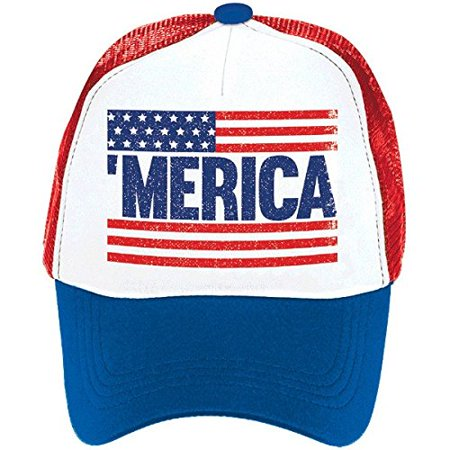 Fourth of July Patriotic Spirit Men's Hat