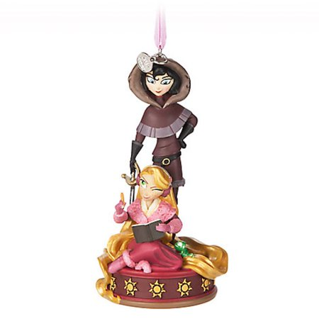 Disney Store 2017 Rapunzel and Cassandra Sketchbook Ornament New with Tags (Date Halloween 2017 Disney)