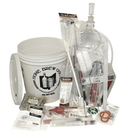 - Ultimate Wine Making Equipment Starter Kit with 6 Gallon Glass Carboy