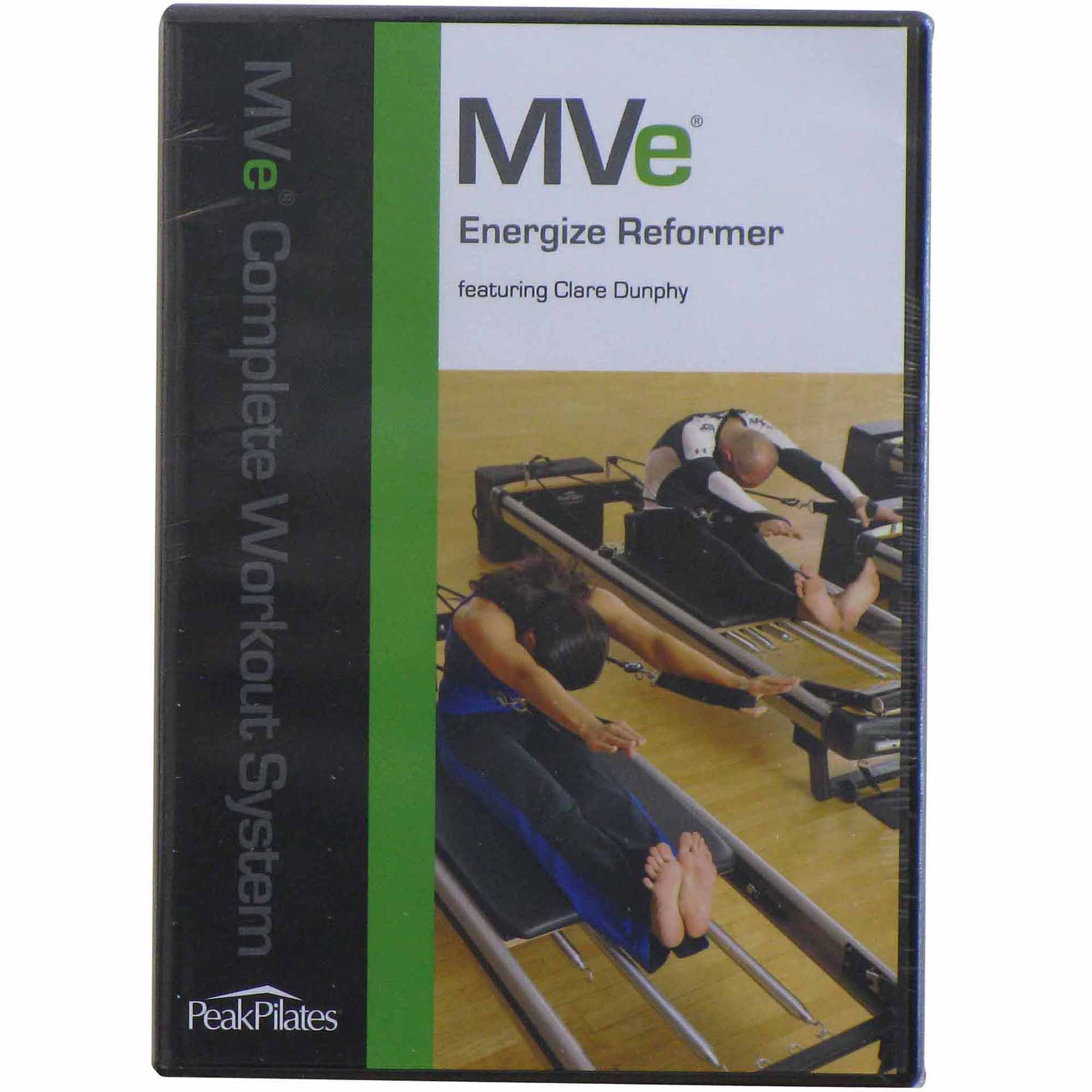 Peak Pilates MVe Energize Reformer Workout DVD