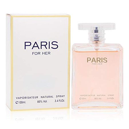 PARIS FOR HER Perfume, 3.4 fl oz. Eau de Parfum Spray for Women, Perfect Gift by Secret Plus
