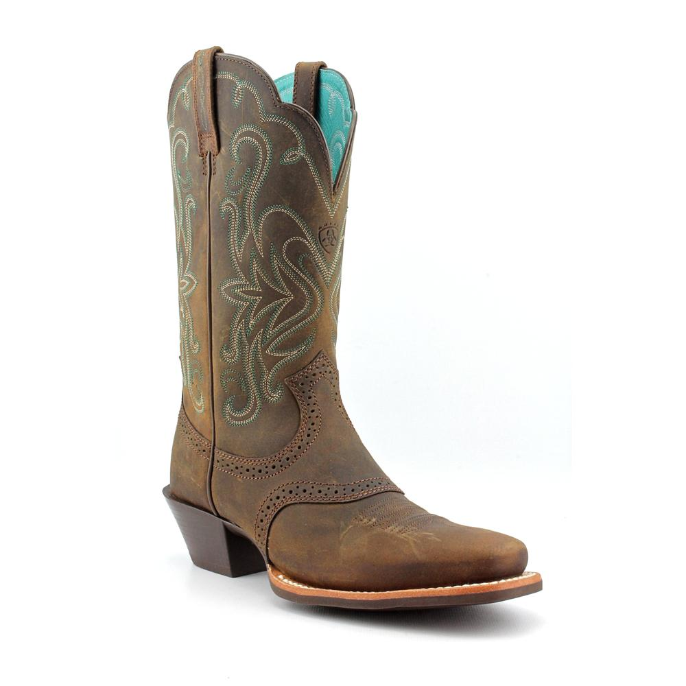 Ariat Legend Women  Square Toe Leather Brown Western Boot
