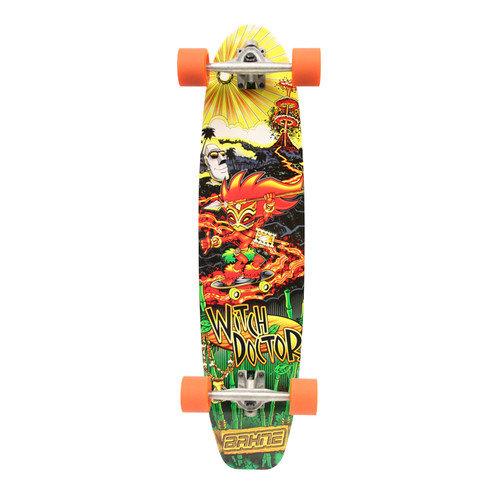 Made in Mars Bahne Witch Doctor Mini LongBoard Skateboard