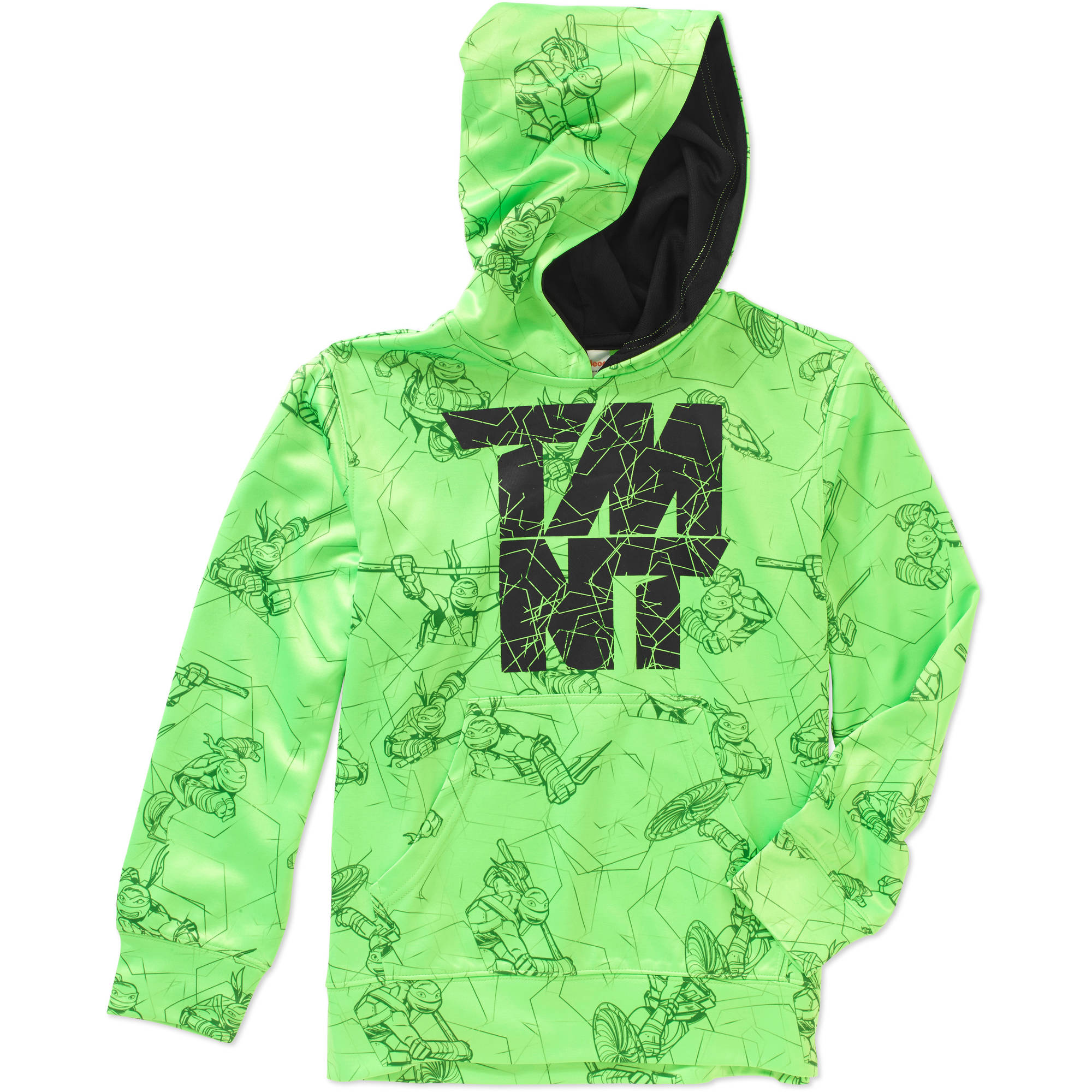 Teenage Mutant Ninja Turtles Boys' Sublimated Poly Fleece Hoodie