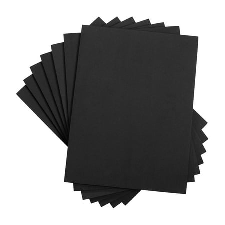 Houseables Crafts Foam Sheets, Art Supplies, EVA, 6mm Thick, Black, 9 X 12 Inch, 10 Pack, Paper Scrapbooking, Cosplay, Crafting Foams Paper, Foamie Crafts, For Kids, Boy Souts, Halloween, Cushion (Halloween Line Art For Kids)