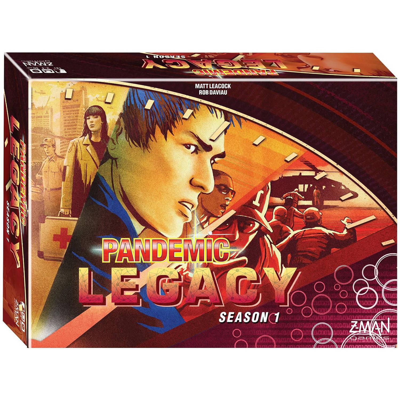 Z-Man Games Pandemic: Legacy Season 1, Red by Zman Games