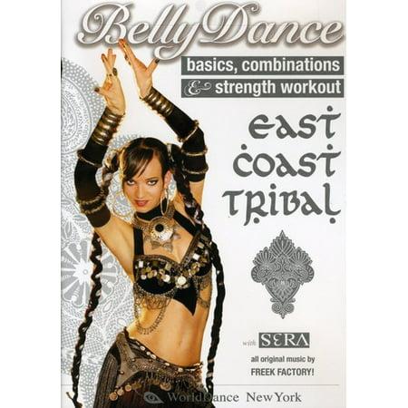 Tribal Belly Dance Dancing (EAST COAST TRIBAL BELLY DANCE: BASICS COMBINATIONS (DVD))