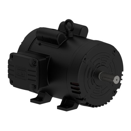 3 HP Air Compressor Duty Electric Motor 184T Frame 1750 RPM Single Phase WEG New ()