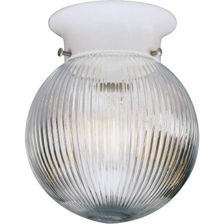One-Light Glass Globe 6-3/8