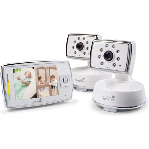 Summer Infant Dual View Digital Color Video Monitor Set
