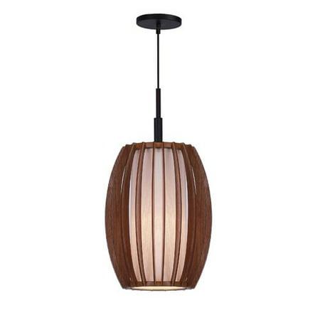 Woodbridge Lighting Fins 1 Light Foyer -
