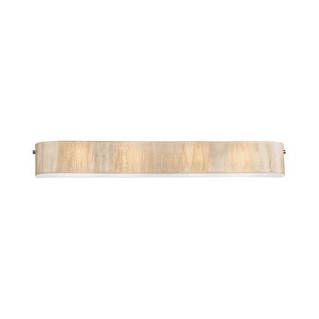 Bathroom Vanity Light With Polished Chrome Finish White Sawgrass - 41 inch bathroom vanity