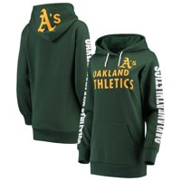 Oakland Athletics G-III 4Her by Carl Banks Women's Extra Innings Pullover Hoodie - Green