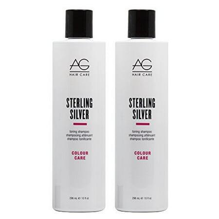 AG Hair Colour Savour Sterling Silver Toning Shampoo 10oz