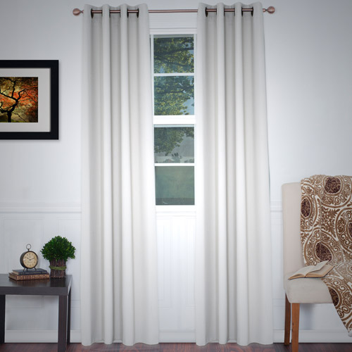 bedroom curtains at walmart somerset home blackout grommet curtain panel 84 14257