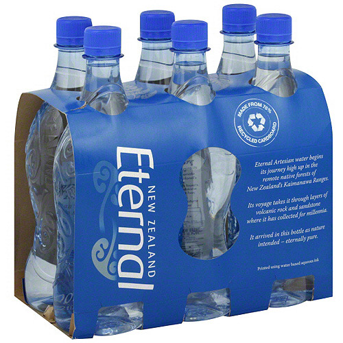 Eternal Artesian Naturally Alkaline Water, 6ct (Pack of 4)