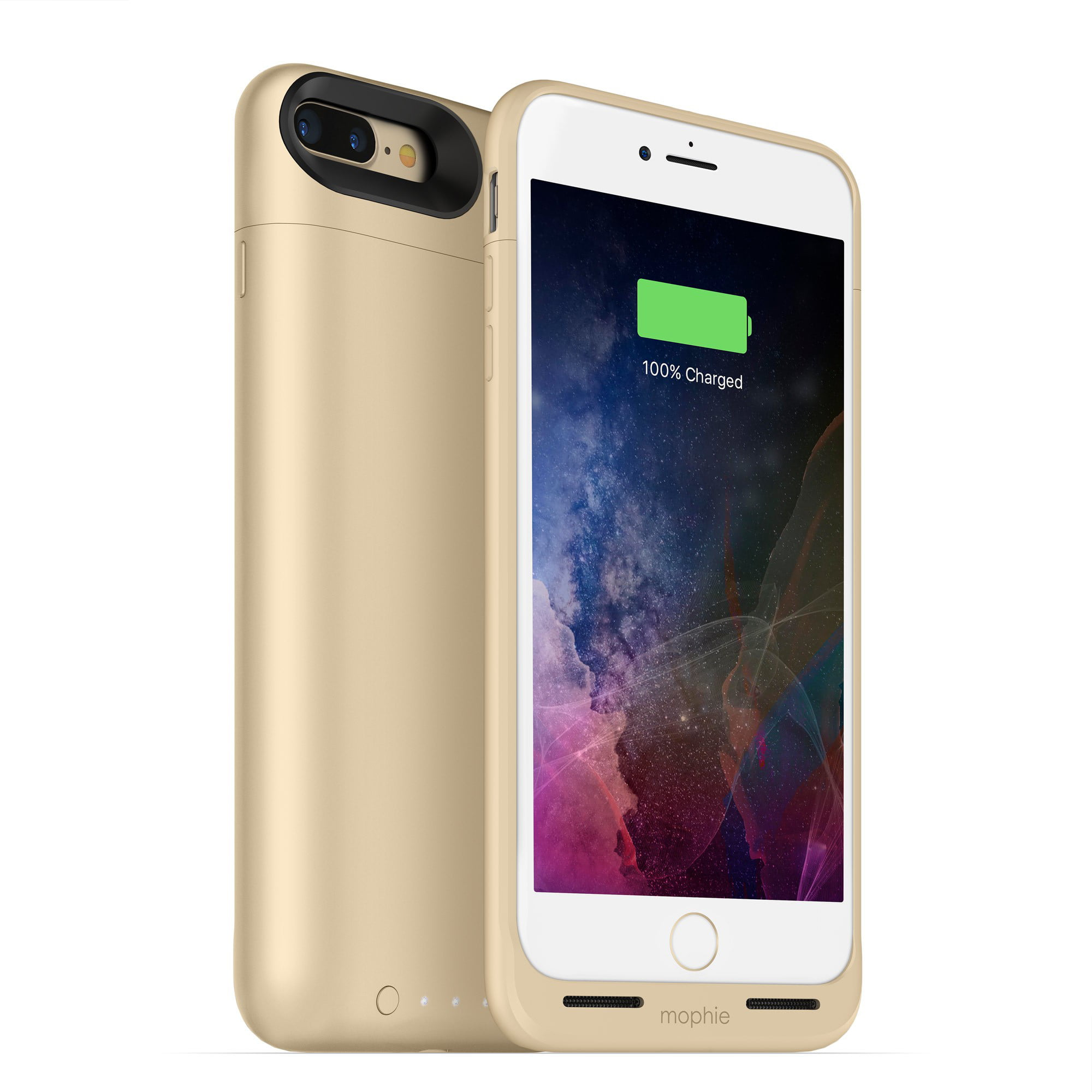 super popular 391c1 4f18a mophie - Juice Pack External Battery Case with Wireless Charging for iPhone  7 Plus - Gold