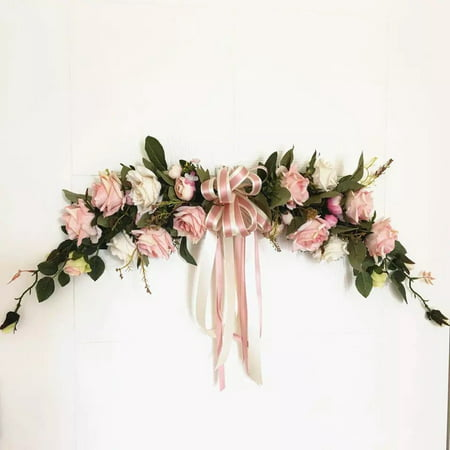 Classic Artificial Flowers for Home Room Garden Lintel Decoration,Roses Peonies