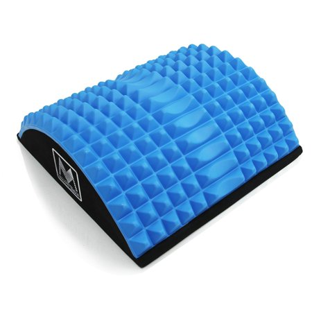 """MSG Abdominal AB Mat 12"""" x 12"""" High Density Core Trainer Fitness Blue"""