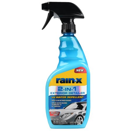 NEW! Rain-X 2-IN-1 Exterior Detailer and Water Repellent 23 FL OZ - 620115