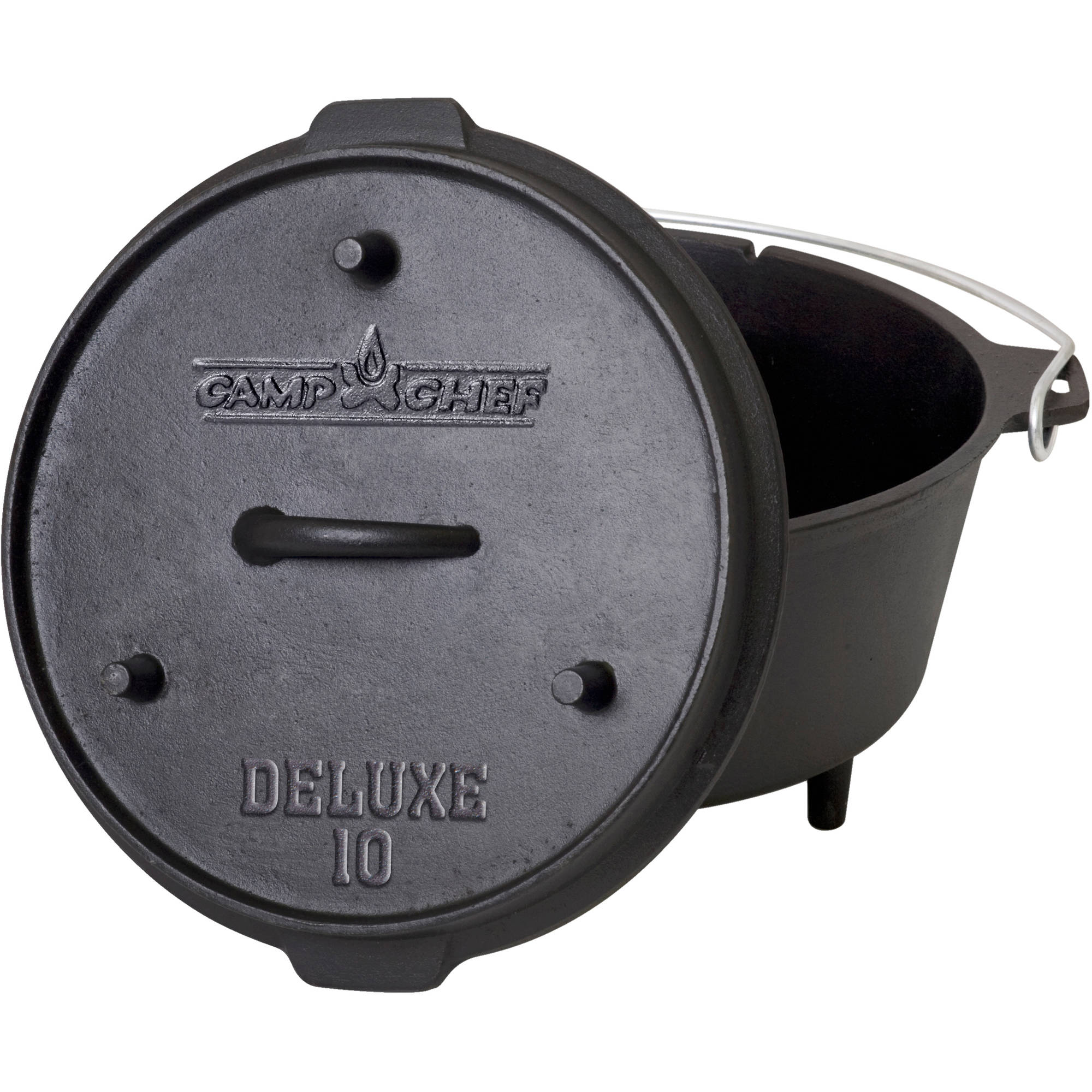 Camp Chef 6-Quart Pre-Seasoned Cast Iron Dutch Oven