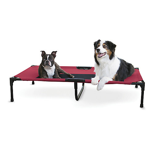 Creative Solutions Elevated Red Dog Bed Small