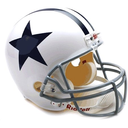 Dallas Cowboys 1960-63 Throwback Riddell Deluxe Replica Helm for $<!---->