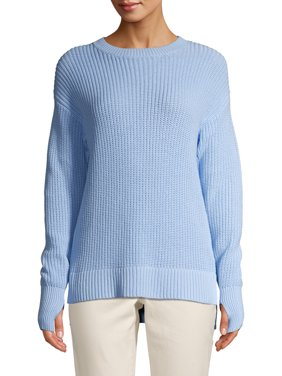 Time and Tru Women's High Low Sweater