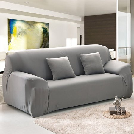 Stretch Sofa Covers 1 2 3 4 Seatssolid Color Chair