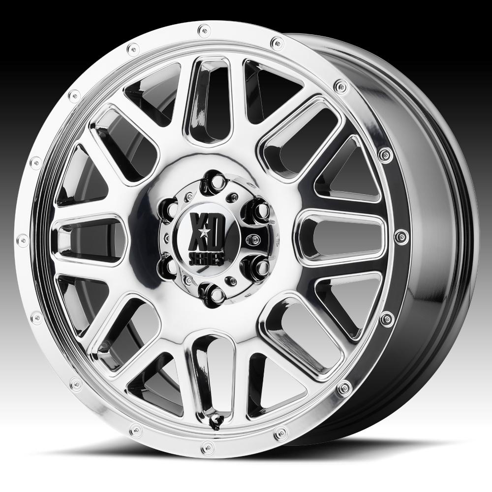 KMC-XD Wheels XD82088038838 XDWXD82088038838 GRENADE 18X8 6X130 CHROME (38 MM)
