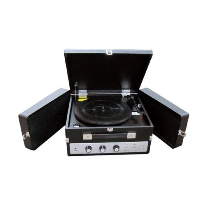 Classical Vinyl Turntable Record Player With PC Encoding, iPod Player, AUX Input & Dual Fold-Out Speaker... by Pyle