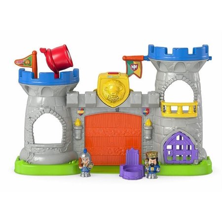 fisher price little people mighty kings castle playset walmart com
