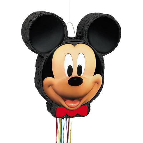 Mickey Mouse Pinata, Shaped Pull String