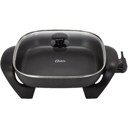 "Oster 12"" x 16"" Electric Skillet, Black"