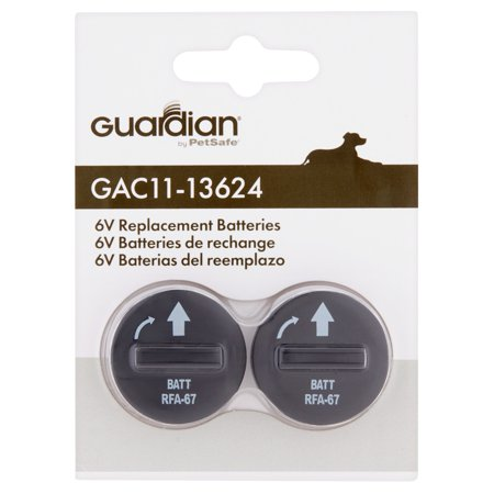 Guardian 6 Volt Replacement Batteries  2 Pack